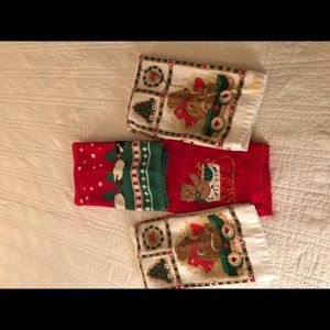 Other - Set of THREE Christmas Kitchen Towels